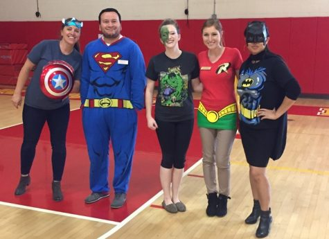 The LEC being the superheroes they are!