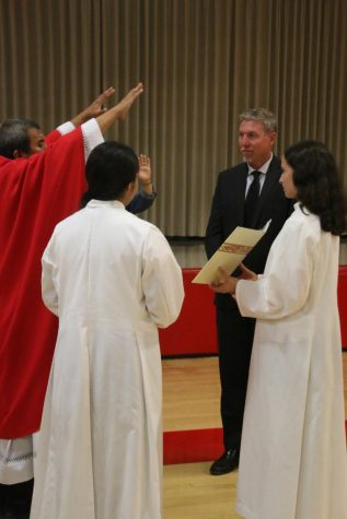 Rosary Community Welcomes Mr. Basford