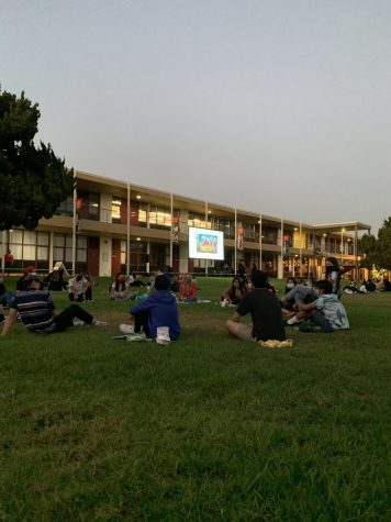 A night on the lawn