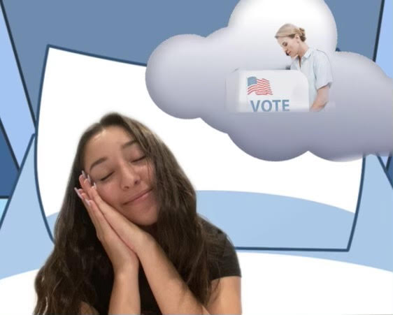 Marysol Cazarez '21 dreams about voting for the first time.
