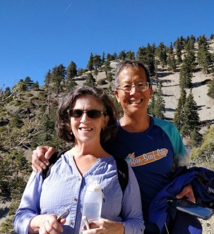 Photo provided by Gloria Kam   Sra. Kam and her husband exploring the great outdoors on their hike.