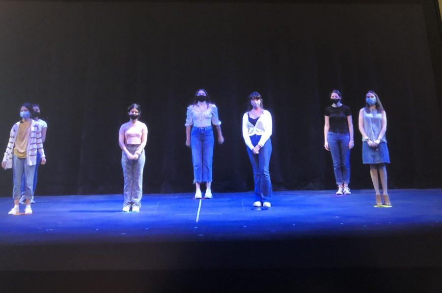 Trinitas' Acting 2 class takes a bow.