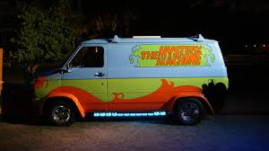 Scooby-Doo has reincarnated many times throughout history, but this live action adaptation is the best! Photo location:  https://commons.wikimedia.org/wiki/File:The_Mystery_Machine.jpg