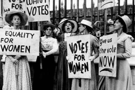 Women suffrage movement protest which led to the passing of the 19th amendment.