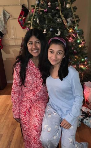 Brianna Guzman celebrates Christmas with her family.  Photo Credit: Brianna Guzman