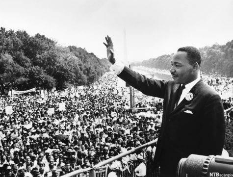 "On August 28th, 1963, MLK gives his iconic ""I Have a Dream"" speech in front of over 250,000 fellow advocates."