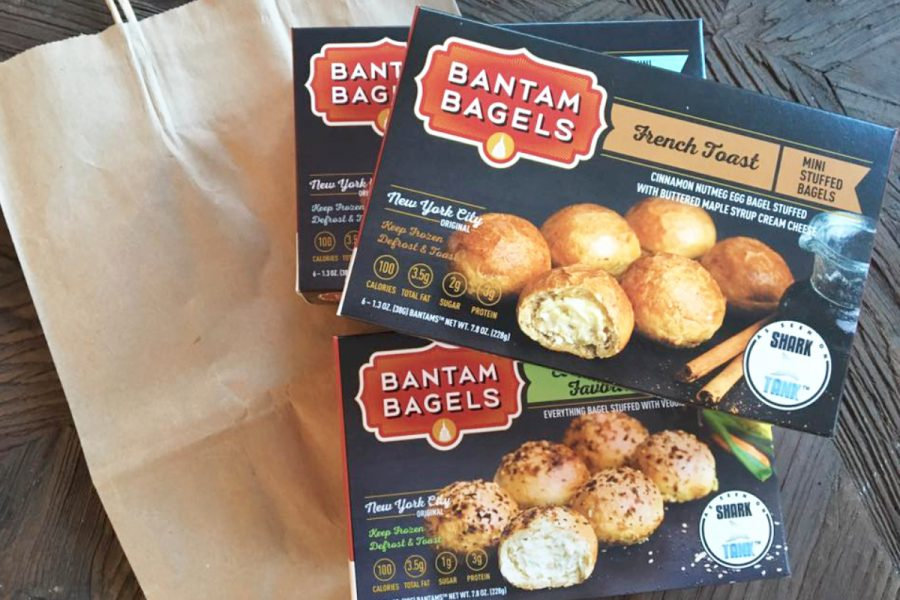 The delicious-looking Bantam Bagels.