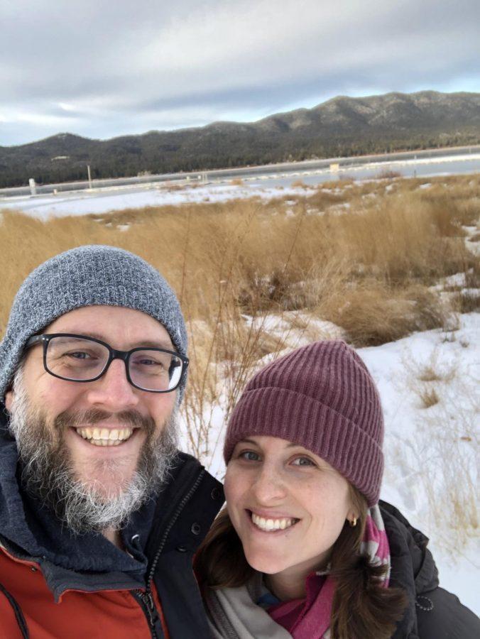 Mr. Stegink and his wife, Kristina Stegink. Photo Credit: Mr. Stegink