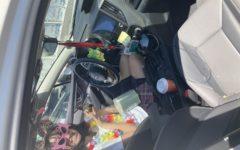 Navigation to Story: Inside Anna DiCrisi's fantastical car