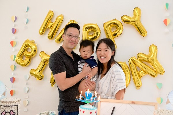 Mrs. Lee and her family
